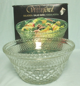 "Wexford 9 3/4"" Salad Bowl or Punch Bowl Base Bowl(MIB) - Product Image"