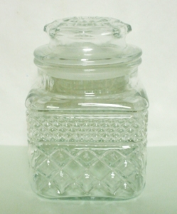 Wexford Crystal 34oz Storage Jar and Lid - Product Image