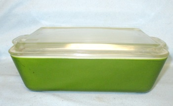 Pyrex Verde Green Large Refigerator Dish - Product Image