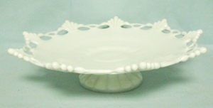 Westmoreland Milkglass Ring & Petal RP-16 Ftd. Bell Bowl - Product Image