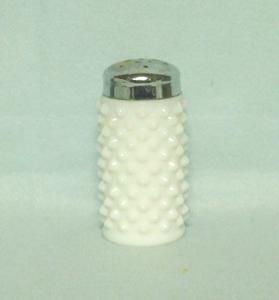 "Fenton Hobnail Milkglass #3806 3""  Shaker - Product Image"