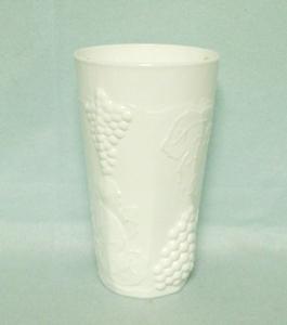 Indiana Glass Milkglass Harvest Grape Pattern Water Tumbler - Product Image