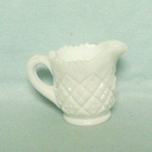 Milkglass Childs Thumbelina Childs Creamer - Product Image