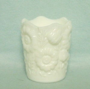 Milkglass Unknown Maker Sunflower Toothpick Holder - Product Image