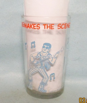Archies,Reggie Makes The Scene 1971 Warner Bros Glass - Product Image