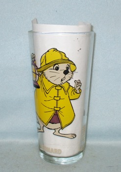 Bernard 1977 Warner Bros.Rescuers Pepsi Collector Glass - Product Image