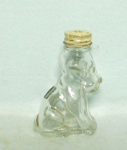 Clear Glass Dog Candy Container TH Stouch Co. - Product Image