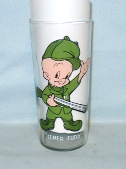 Elmer Fudd 1973 Warner Bros.Pepsi Collector Glass - Product Image