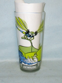Evinrude 1977  Warner Bros.Pepsi Collector Glass - Product Image