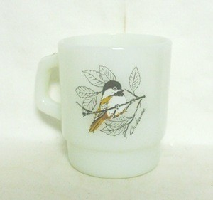Fireking Chickadee & Baltimore Oriole Stackable Mug - Product Image