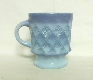 Fireking Kimberly Tu-Tone Blue Coffee Mug - Product Image