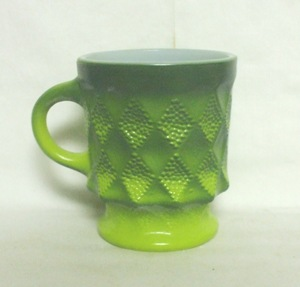 Fireking Kimberly Tu-Tone Green Coffee Mug - Product Image