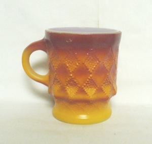 Fireking Kimberly Tu-Tone Red & Orange Coffee Mug - Product Image