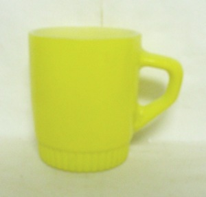 Fireking Orange Stackable Mug w Ribbed Base - Product Image
