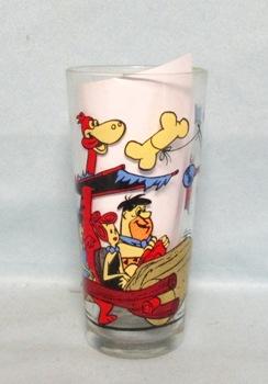 Flintstones 1977 Hana Barbera Prod Pepsi Collector Glass - Product Image
