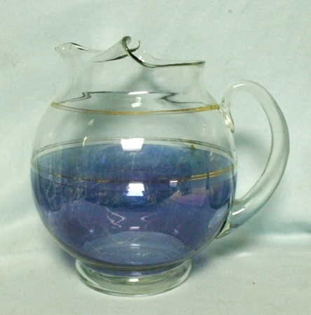 """Gay Fad/Macbeth-Evans Corning Upright Ball 8 1/2"""" Pitcher - Product Image"""