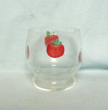 "Gay Fad/Bartlette Collins Roly Poly 4 Tomato 2 3/4"" Juice Glass - Product Image"