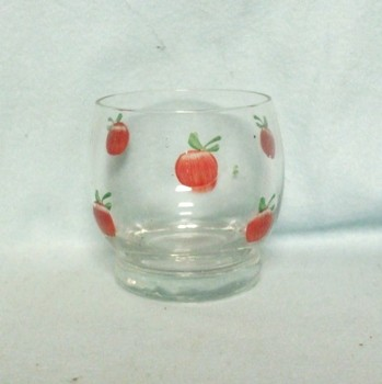 "Gay Fad/Bartlette Collins Roly Poly 6 Tomato 2 3/4"" Juice Glass - Product Image"