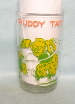 I Thought I Taw A Puddy Tat 1974 Warner Bros Cartoon Glass - Product Image