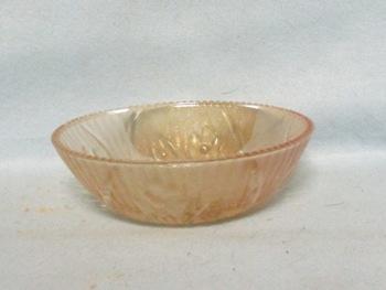 """Iris & Herringbone Iridescent 4 1/2"""" Berry Bead Edge - Product Image"""