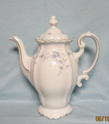 John Haviland Blue Garland Coffee Pot - Product Image