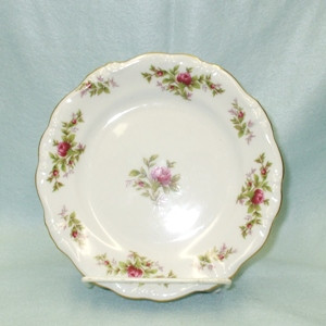 John Haviland Moss Rose Bread & Butter Plate - Product Image