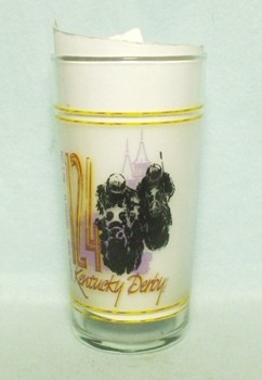 Kentucky Derby 124 Glass May 2 1998 - Product Image
