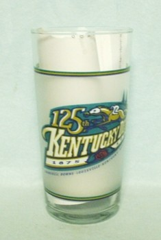 Kentucky Derby 125 Glass May 2 1999 - Product Image