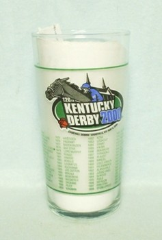 Kentucky Derby 126 Glass May 6 2000 - Product Image