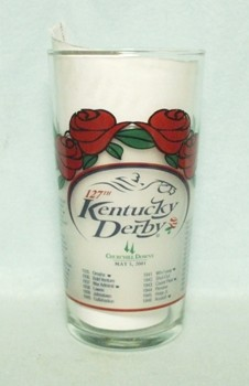 Kentucky Derby 127 Glass May 5 2001 - Product Image