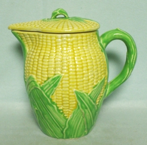 Made in Japan Corn Large Pitcher w Lid - Product Image