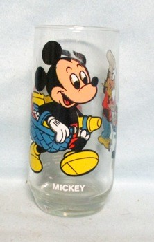 Mickey Walt Disney Productions Pepsi Collector Glass - Product Image