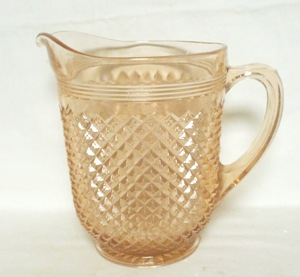 "Miss America Pink 8"" 65 oz. Pitcher no Ice Lip - Product Image"