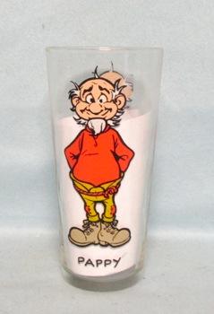 Pappy 1975 Al Capp C.E.I. Pepsi Collector Glass - Product Image