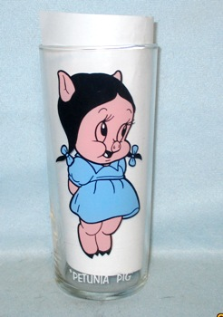 Petuina Pig 1973 Warner Bros.Pepsi Collector Glass - Product Image