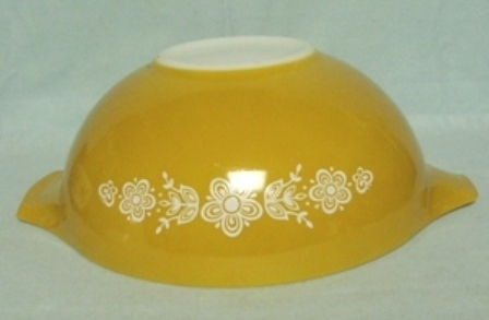 "Pyrex Butterfly Gold Cinderella 10 1/2"" Mixing Bowl - Product Image"