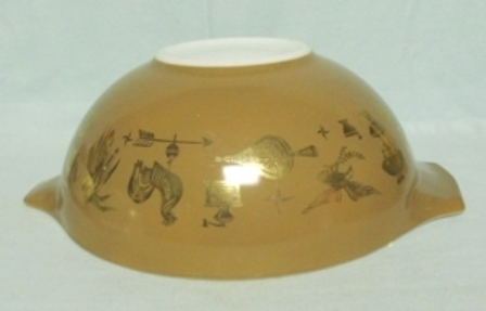"""Pyrex Early American Cinderella 6"""" Mixing Bowl - Product Image"""