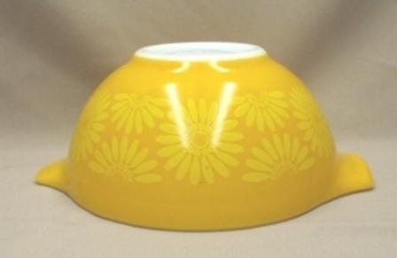 "Pyrex Sunflower Cinderella 7 1/2"" Mixing Bowl - Product Image"