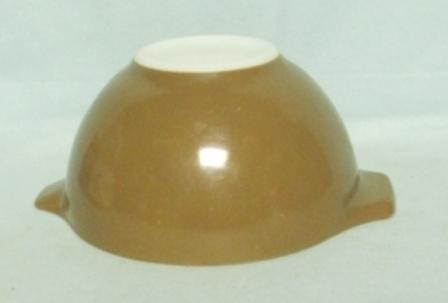 "Pyrex Town & Country Orange Cinderella 10 1/2"" Mixing Bowl - Product Image"