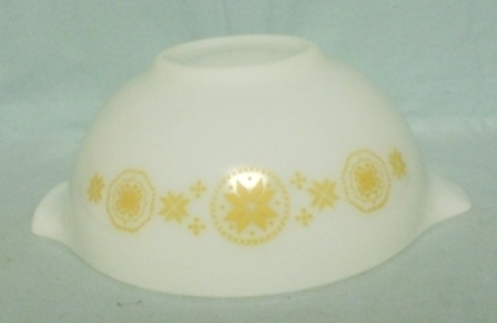 "Pyrex Town & Country Orange Cinderella 7 1/2"" Mixing Bowl - Product Image"