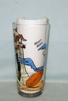 Road Runner & Coyote Warner Bros.1973 Pepsi Collector Glass - Product Image