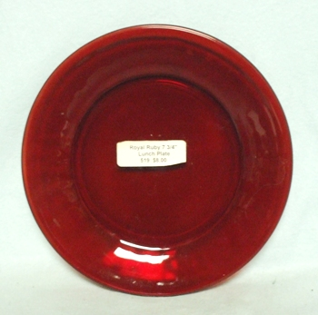 "Royal Ruby R-1700 Round 7 3/4""Lunch Plate - Product Image"
