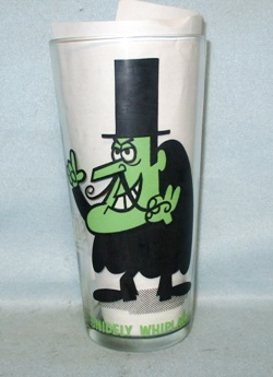 Snidely Whiplash Ward Productions Pepsi Collector Series Collector Glass - Product Image