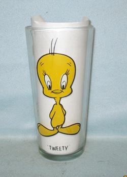 Tweety Bird 1973 Warner Bros.Pepsi Collector Glass - Product Image