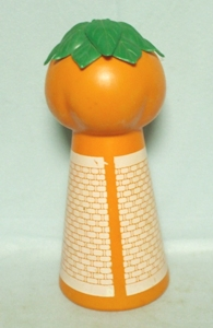 Unusual Orange & White Plastic Orange Juice Dispenser - Product Image