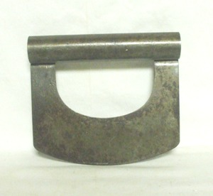 Vintage Metal Handled Single Bladed Chopper - Product Image