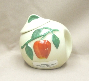 Vintage USA Apple Sugar,Salt & Pepper - Product Image