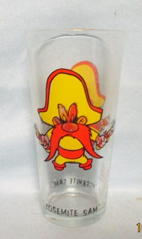 Yosemite Sam 1973 Warner Bros.Pepsi Collector Glass - Product Image