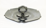 "Black Amythest 9"" Center Handled 6 Sided Tray - Product Image"