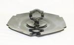"Black Amythest 9"" Center Handled 6 Sided Tray - Product Image"
